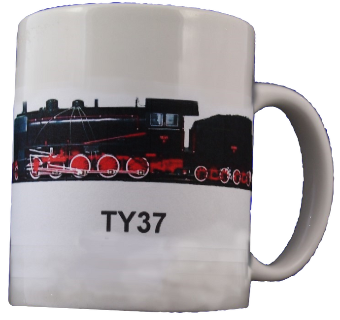Improved Heavy Freight Steam Locomotive TY37 Coffee Mug - Poland's Best Home & Hobby