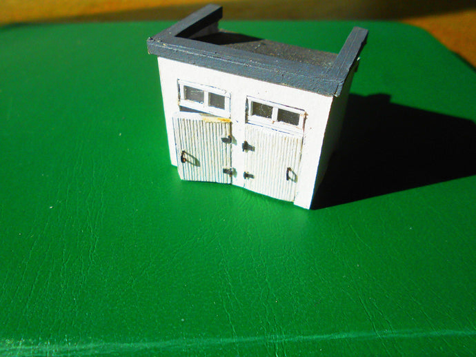 Scale Model Public Toilets Carton Model