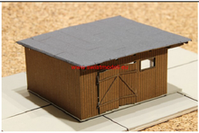 Load image into Gallery viewer, Laser Cut Workshop Or Small Warehouse Coverered With Tarred Felt Roof.