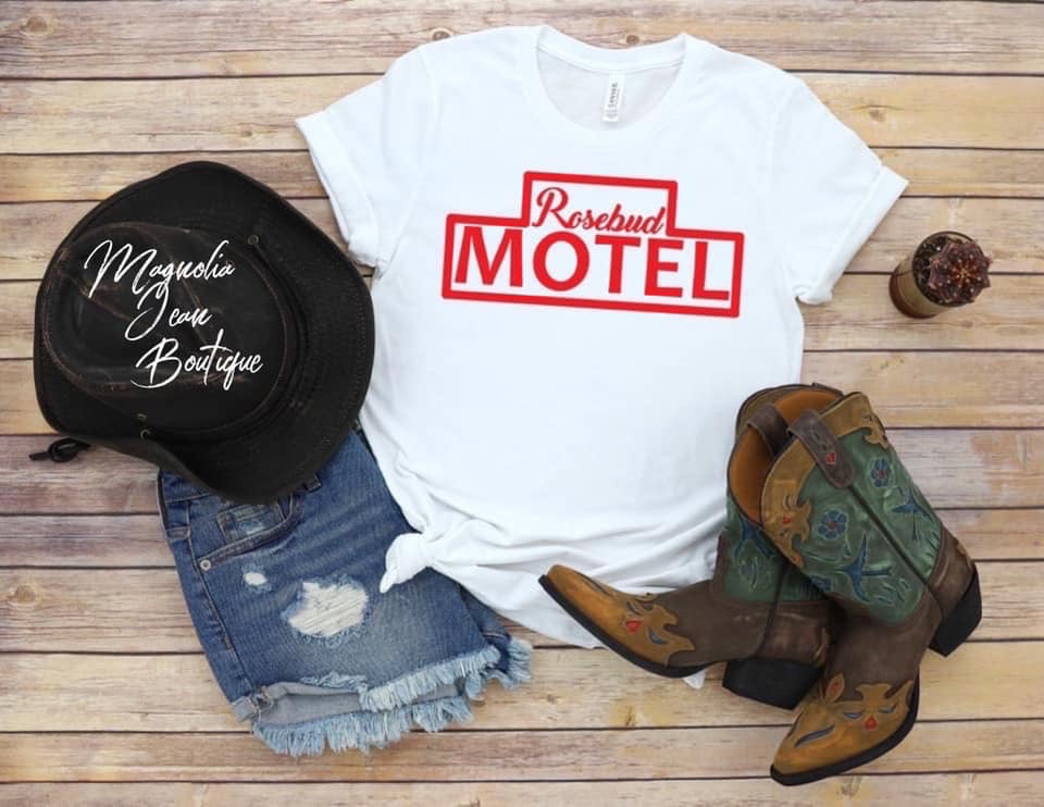 Schitt's Creek Rosebud Motel Graphic Tee