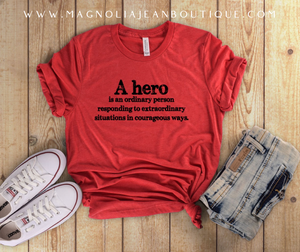 Hero Graphic Tee