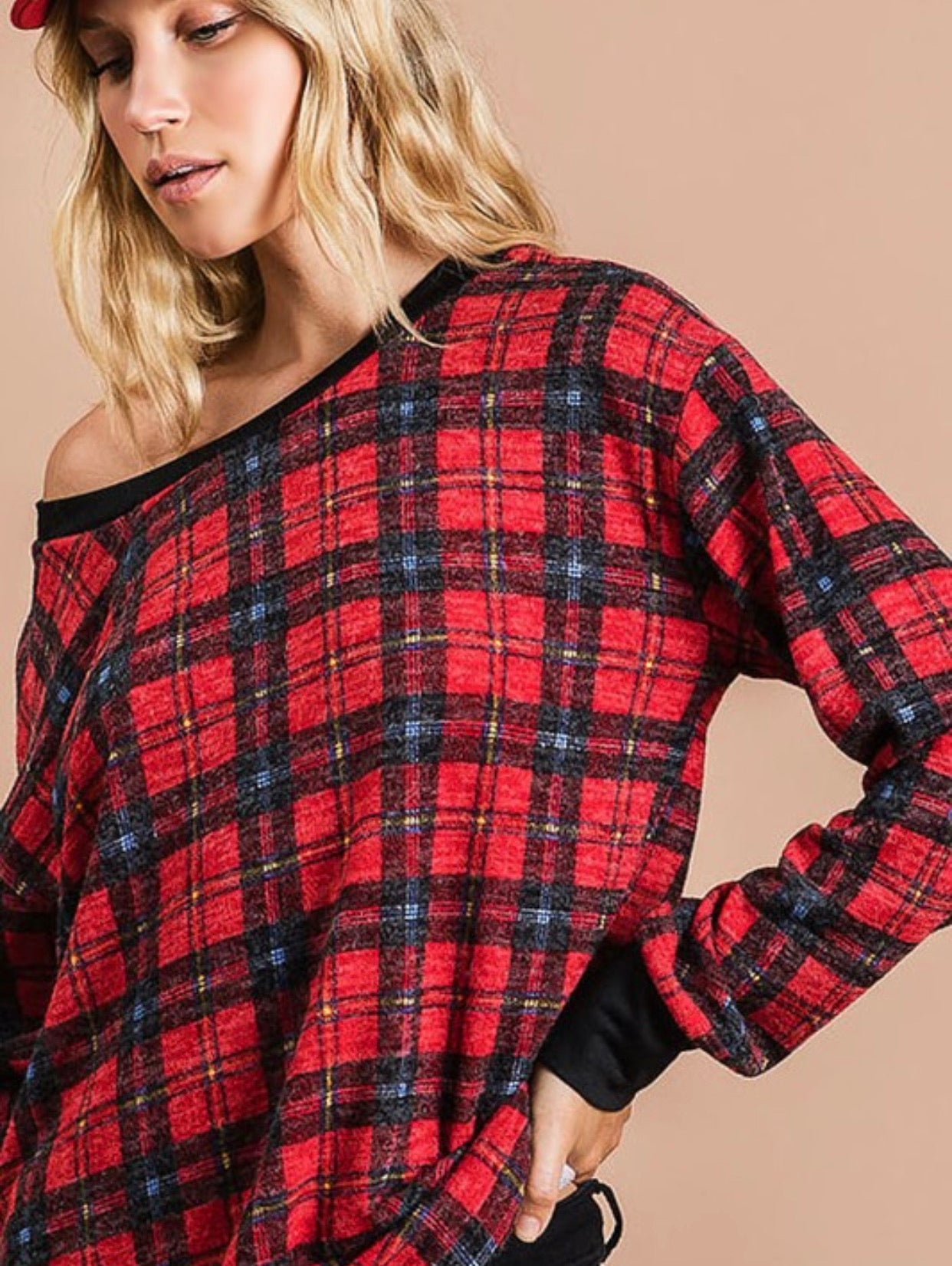 Gift of Plaid Pullover
