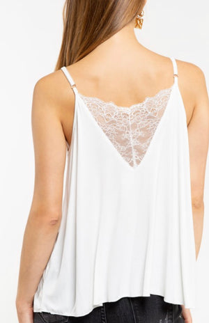 The Southside Cami Ivory