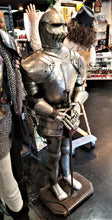 Load image into Gallery viewer, Italian-Made Decorative Suit of Armor