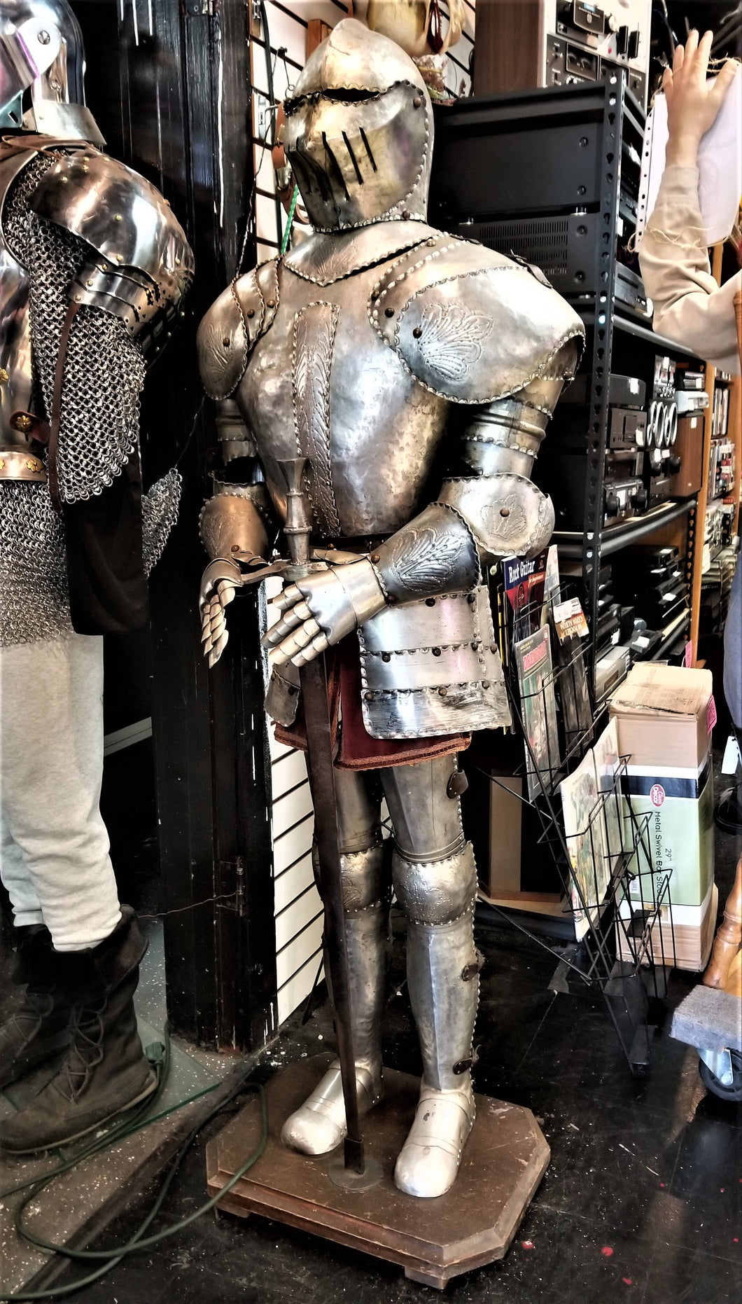 Italian-Made Decorative Suit of Armor
