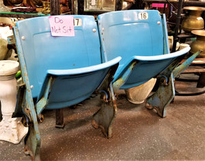 Pair Of Soldier Field Baseball Stadium Seats