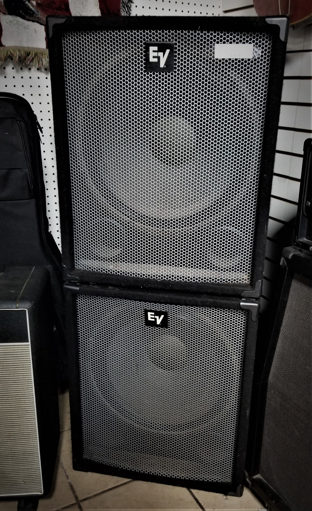 Pair of Electrovoice Force 1 Passive Sub Speakers