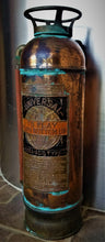 Load image into Gallery viewer, Universal Copper Antique Fire Extinguisher w/ Hose