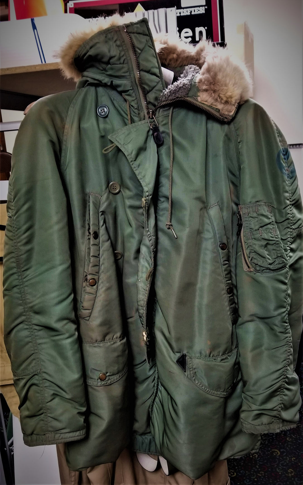 Alpha Industries US Air Force Fur-Lined Jacket - 1959