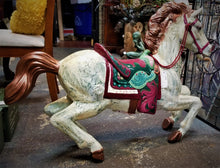 Load image into Gallery viewer, Vintage Painted Display Horse