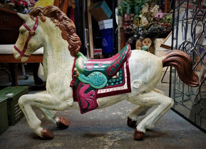 Vintage Painted Display Horse