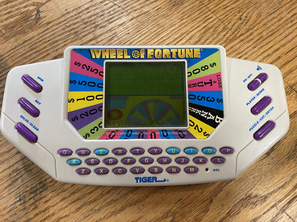 Wheel of Fortune - Tiger Hand-Held Game