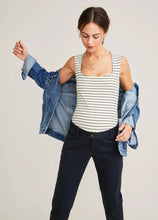 Load image into Gallery viewer, Maternity casual fashion lapel denim jacket
