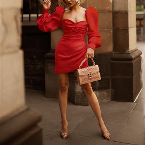 Maternity Fashion Casual Solid Color Bodycon Dress