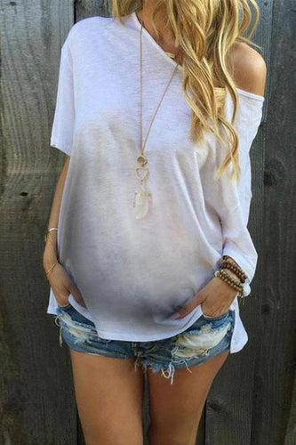 Maternity Fashion Casual Round Neck Solid Color Short Sleeve T-Shirts