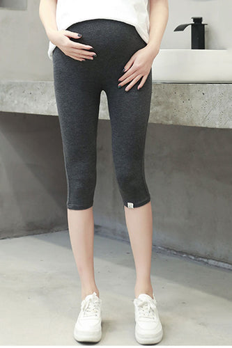 Maternity Fashion Casual Solid Color Thin Pants