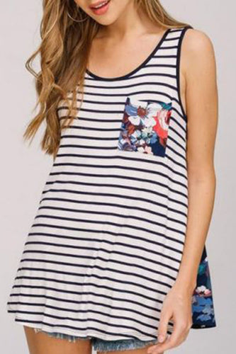 Maternity Fashion Casual Printed Floral Sleeveless Camis&Vests
