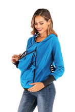 Load image into Gallery viewer, Maternity Tops New Round Neck Maternity Outerwear