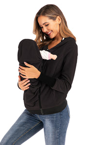 Maternity Tops New Round Neck Maternity Outerwear