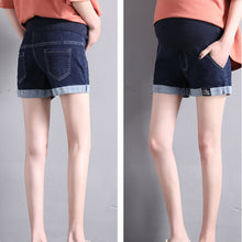 Load image into Gallery viewer, Maternity Summer Denim Shorts Women Fashion Pregnant Women Pants