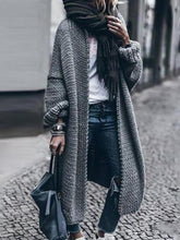 Load image into Gallery viewer, Spring And Autumn Long Sleeve Knitted Casual Loose Coat