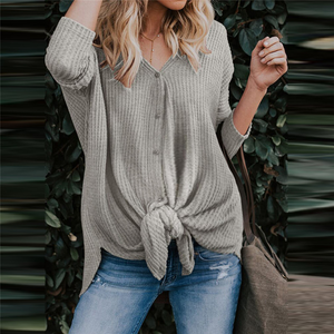 Maternity Cardigan T-Shirt Button Bottoming T-Shirts