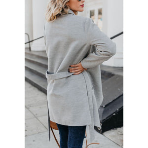 Maternity Casual solid color all-match trench coat