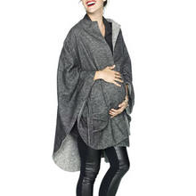 Load image into Gallery viewer, Maternity Commute With A Solid Color Loose Long-sleeved Coat