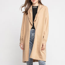 Load image into Gallery viewer, Maternity Imitation Cashmere Long Cardigan Coat