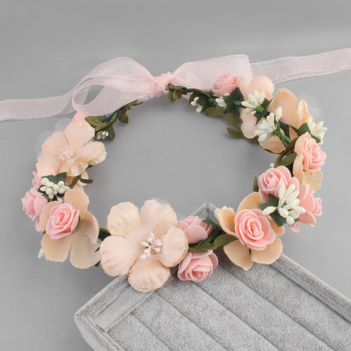 Maternity Three Colors Optional Fabric Garland Headdress
