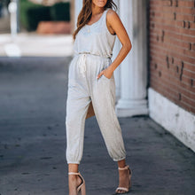 Load image into Gallery viewer, Maternity Pocketed Jumpsuit