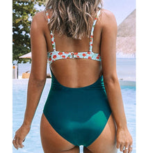 Load image into Gallery viewer, Maternity Beach Printed Color Swimsuit