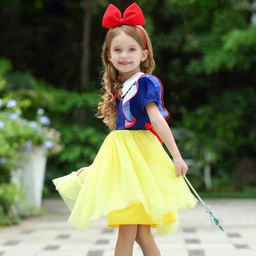 Girl Snow White Princess Dress