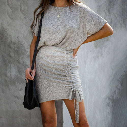Maternity Ruched Casual Dress