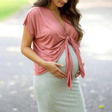Load image into Gallery viewer, Maternity suspender dress Two-color set