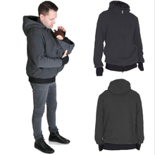 Load image into Gallery viewer, Daddy's Multifunctional Kangaroo Hoodie