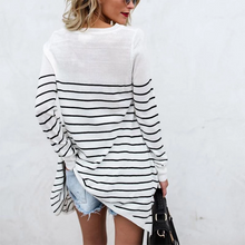 Load image into Gallery viewer, Maternity Fashion Casual Striped Bottoming T-Shirts