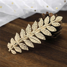 Load image into Gallery viewer, Metal Leaf Hairpin Clip