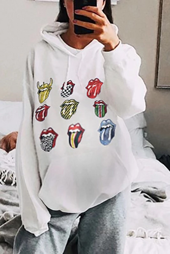 Maternity Daily Pure Color Long Sleeve Hoodies