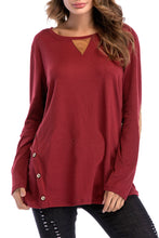 Load image into Gallery viewer, Maternity Loose Solid Color Long Sleeve T-Shirts