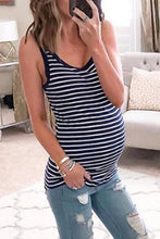 Load image into Gallery viewer, Maternity Casual Stripe Camis&Vests