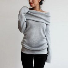 Load image into Gallery viewer, Maternity Fashion Slim-Fit T-Shirt Long-Sleeved Sweater
