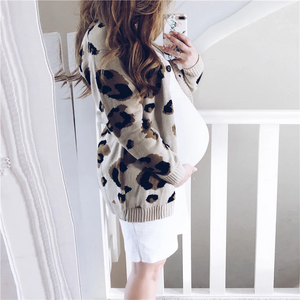 Maternity Fashion Solid Color Knit Bodycon Dress