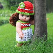 Load image into Gallery viewer, Mini Simulation Baby Dolls Blink Full PVC Doll Children's Christmas Gifts
