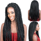 Afro Twist Braided Wigs For Black-Wig-online-18inches-hair-extensions-wigs.com