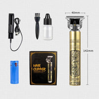 Budha Hair Trimmer With Clippers-Hair Trimmer-online-Dragon Trimmer Set-hair-extensions-wigs.com