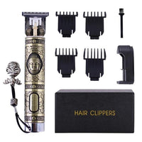 Budha Hair Trimmer With Clippers-Hair Trimmer-online-Khaki Budha Trimmer-hair-extensions-wigs.com