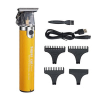 Budha Hair Trimmer With Clippers-Hair Trimmer-online-Yellow Supper Cut Trimmer-hair-extensions-wigs.com