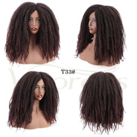 Dreadlocks Afro Kinky Curly Wig Synthetic-Curly Wig-online-hair-extensions-wigs.com