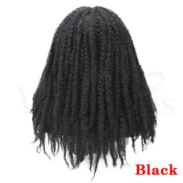 Dreadlocks Afro Kinky Curly Wig Synthetic-Curly Wig-online-Natural Black-hair-extensions-wigs.com